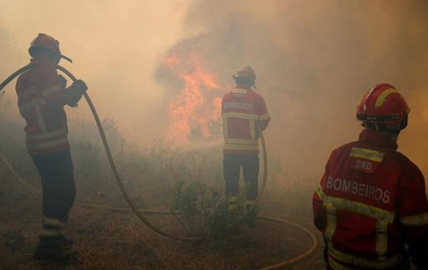 Лісові пожежі в Португалії: вогонь заблокував ціле село