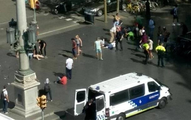 Українець став свідком теракту в Барселоні