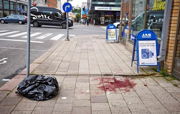Нападение в Финляндии: умер еще один человек, нападавший задержан