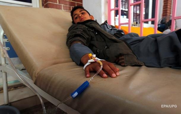 Медики звинуватили Ер-Ріяд у початку епідемії холери в Ємені