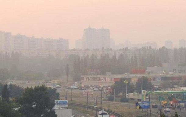 У Києві знову перевищений рівень забруднення повітря