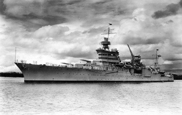 Через 72 года поисков в Тихом океане нашли крейсер Индианаполис