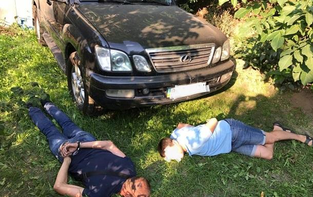 Задержаны угонщики авто замглавы Нацполиции