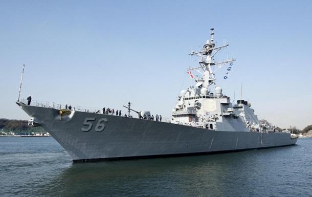 Аварія з есмінцем США: зникли десять моряків