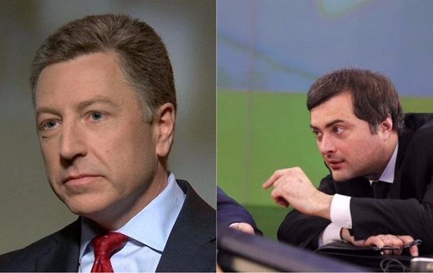 Сурков: Встреча с Волкером была полезной