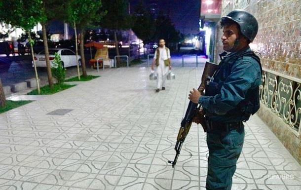 По дипломатическому центру Кабула ударили ракетой