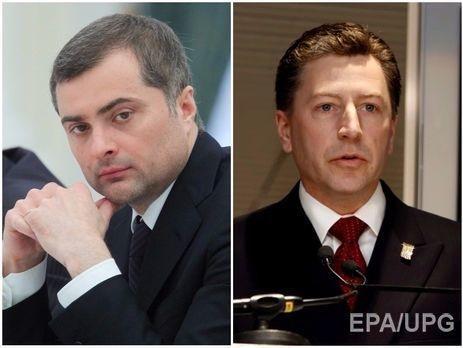 Сурков и Волкер в Минске: Военные переговоры вместо мирных
