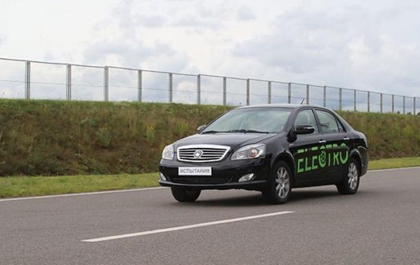 В Беларуси создали первый электромобиль
