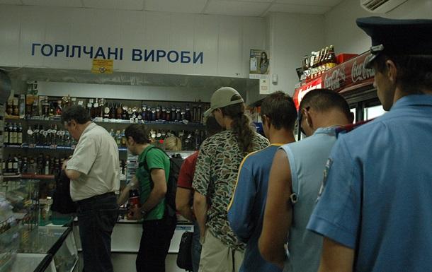 В Україні впало виробництво горілки і пива