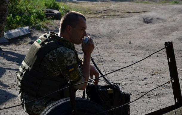 Доба в АТО: Позиції військових обстрілювали вночі