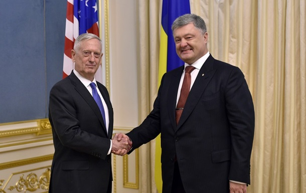 Мэттис подсчитал траты США на Украину