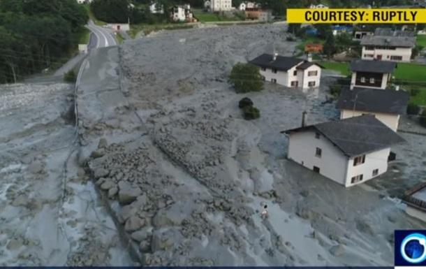 После оползня в Альпах пропали 14 человек