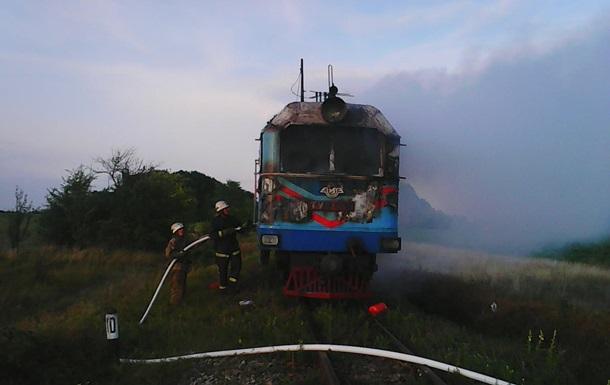В Винницкой области горела электричка