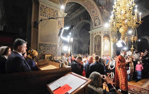 Порошенко распорядился торжественно отметить Крещение Москвы