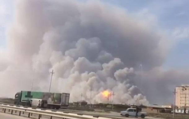Взрывы на арсенале в Азербайджане: шесть раненых