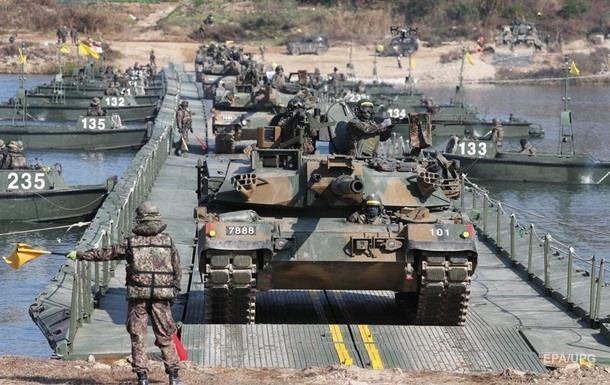 Южная Корея готовит наступление в случае удара по Сеулу