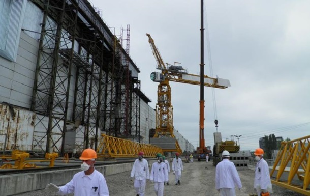 Руководителю украинской компании, задействованной в строительстве Арки на ЧАЭС, присвоили звание заслуженного строителя