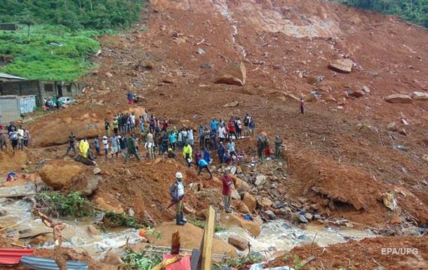 В Сьерра-Леоне от оползня погибли больше тысячи человек