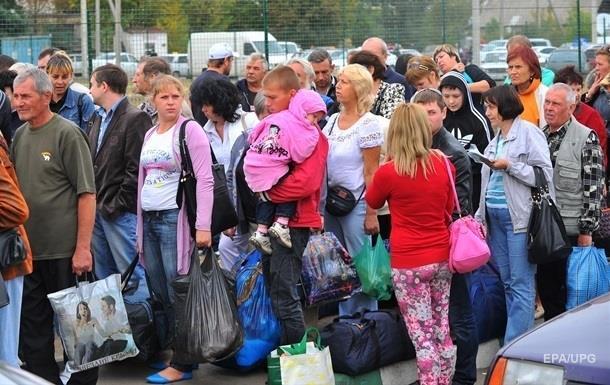 В Украине снизилось число переселенцев