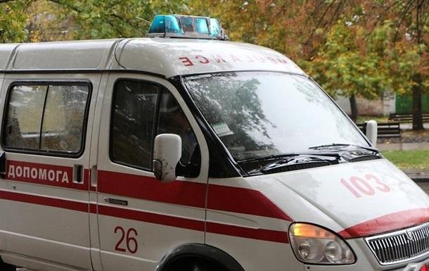На Донетчине пьяный россиянин протаранил остановку на угнанном авто