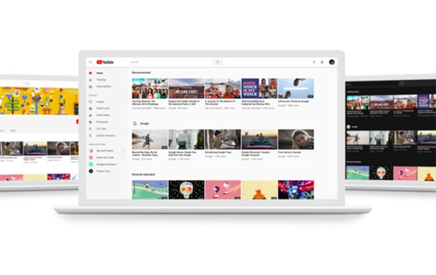 YouTube сменил дизайн и добавил вертикальные видео