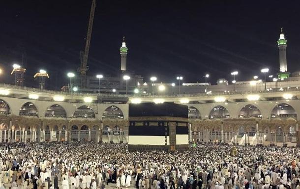 У Саудівську Аравію на хадж прибули 1,8 мільйона паломників