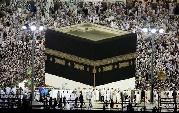 На хадж в Саудовскую Аравию прибыли 1,8 млн паломников