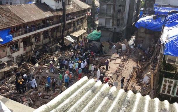 В Индии обрушился жилой дом: есть жертвы