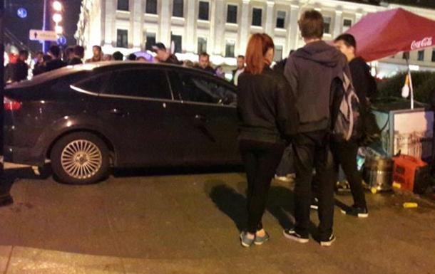 В Санкт-Петербурге автомобиль влетел в толпу прохожих