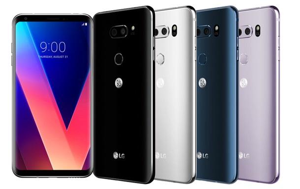 LG показала безрамочный смартфон с Hi-Fi звуком
