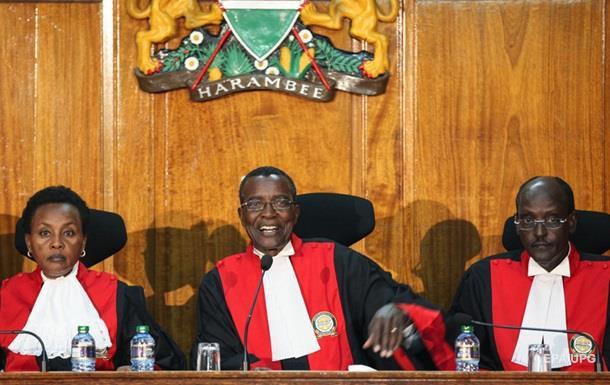 У Кенії суд скасував результати президентських виборів