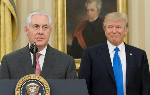 Госдеп: Слухи о недовольстве Трампа госсекретарем ложные