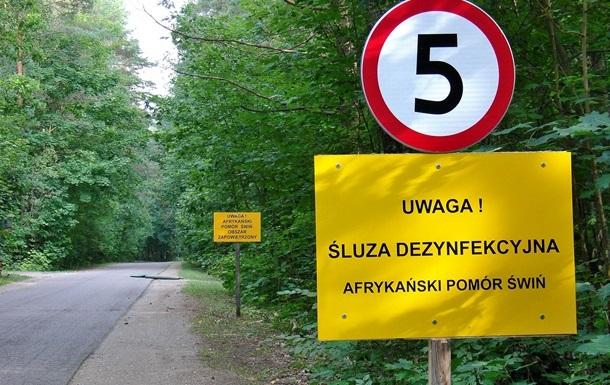 Польща будує паркан на кордоні з Україною
