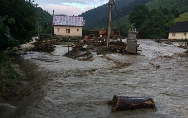 На реках Закарпатья объявили штормовое предупреждение