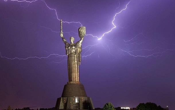 На Киев надвигается гроза