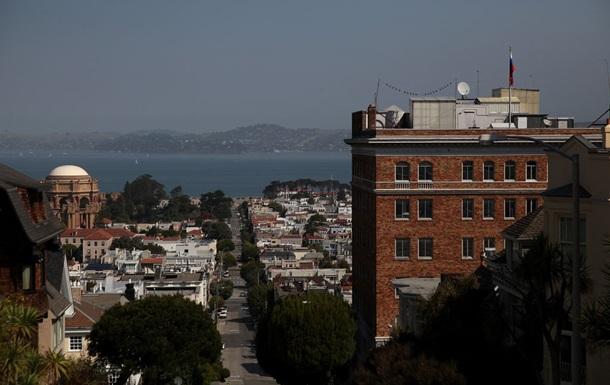 США взяли под контроль часть генконсульства РФ в Сан-Франциско