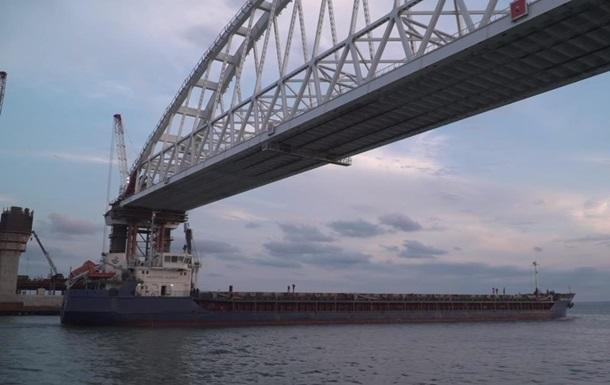 На стройке Керченского моста нашли компании из Нидерландов