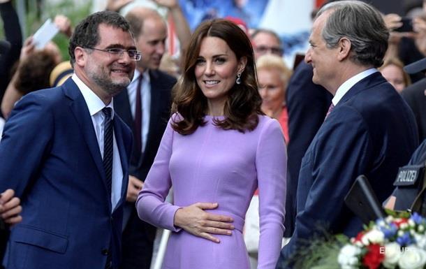 Кейт Мидллтон беременна третьим ребенком