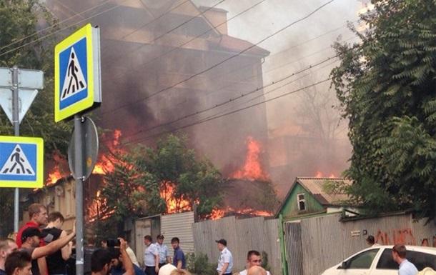О нашумевшем пожаре в Ростове-на-Дону