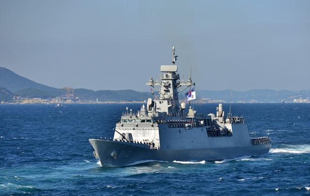 Південна Корея провела морські навчання
