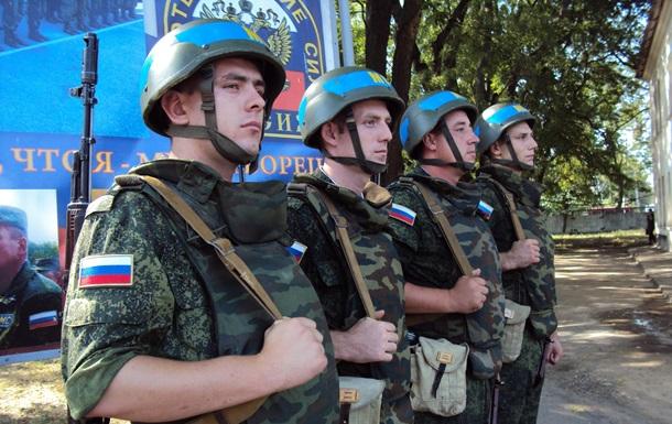 В России заявили, что их солдаты должны стать миротворцами на Донбассе
