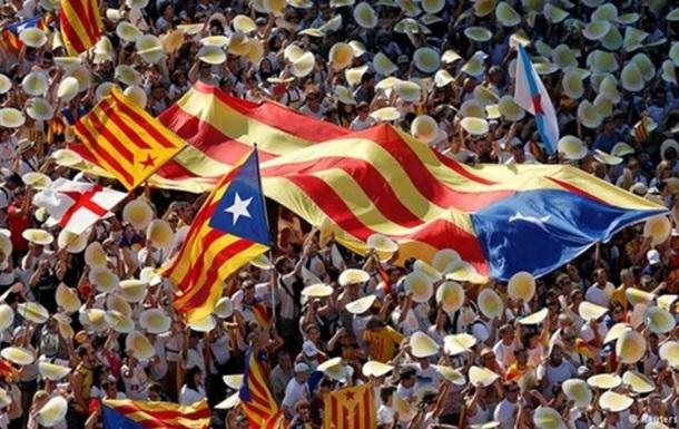 Парламент Каталонии одобрил референдум о независимости