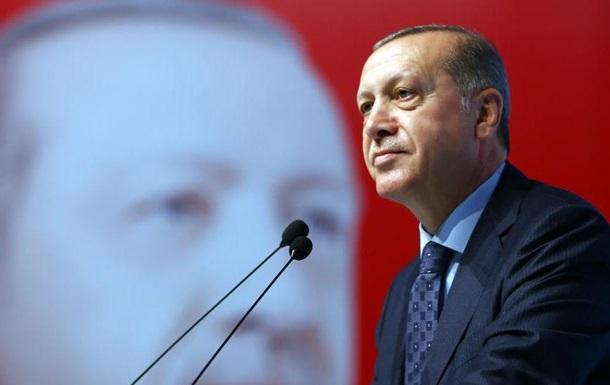 Ердоган: У ЄС політична атмосфера як перед Другою світовою війною