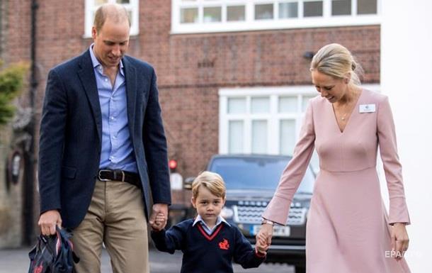 Юный принц Джордж пошел в школу - СМИ