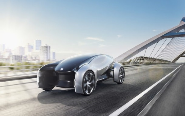 Jaguar показал футуристический электрокар будущего