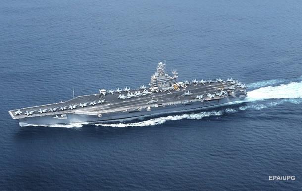США направили авианосец для помощи из-за урагана Ирма