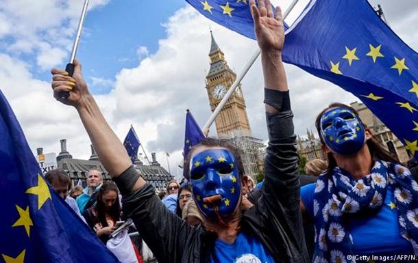У Лондоні пройшла багатотисячна акція протесту проти Brexit