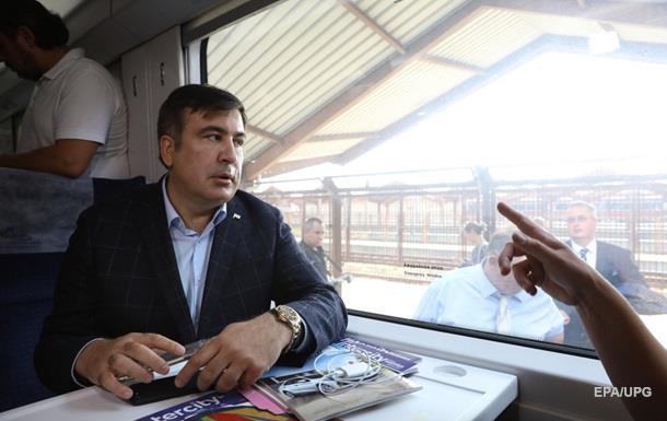 У Нацполіції відхрестилися від затримки поїзда з Саакашвілі