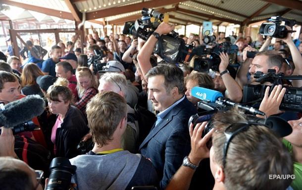 Саакашвили попытается въехать через Шегини