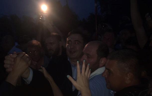 Саакашвили в Украине. Сторонники прорвали кордон
